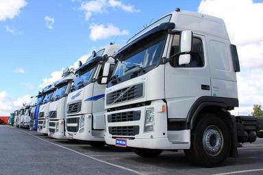 Parkoviště kamionů