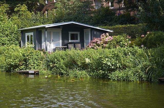 domek u vody