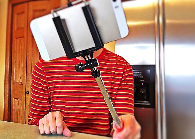 selfie hůl