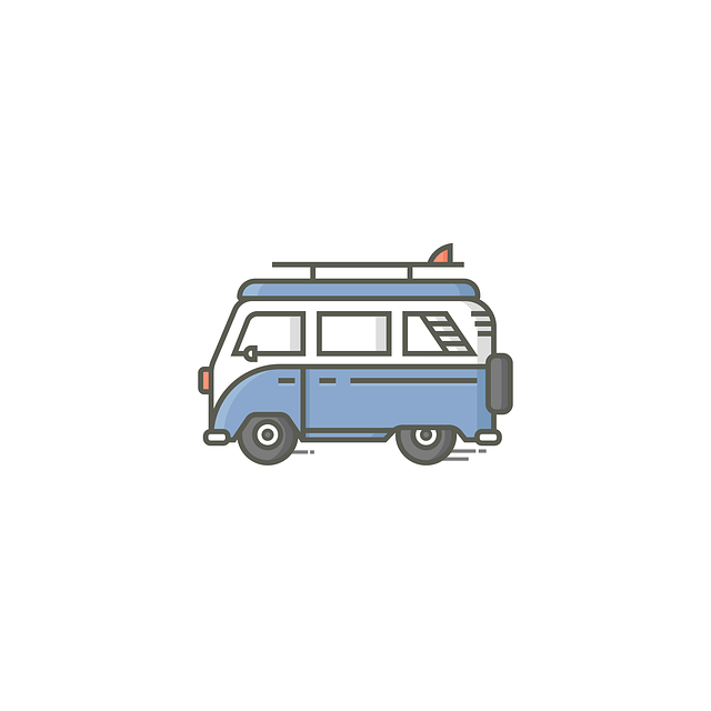 ilustrace karavanu