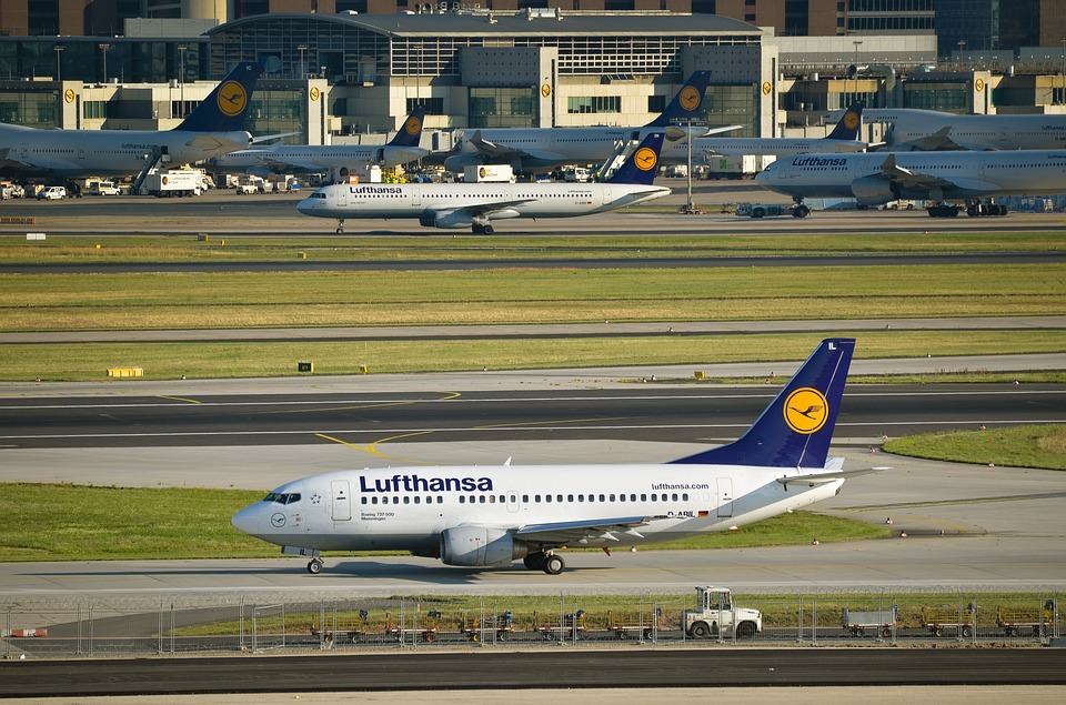 letadlo Lufthansy